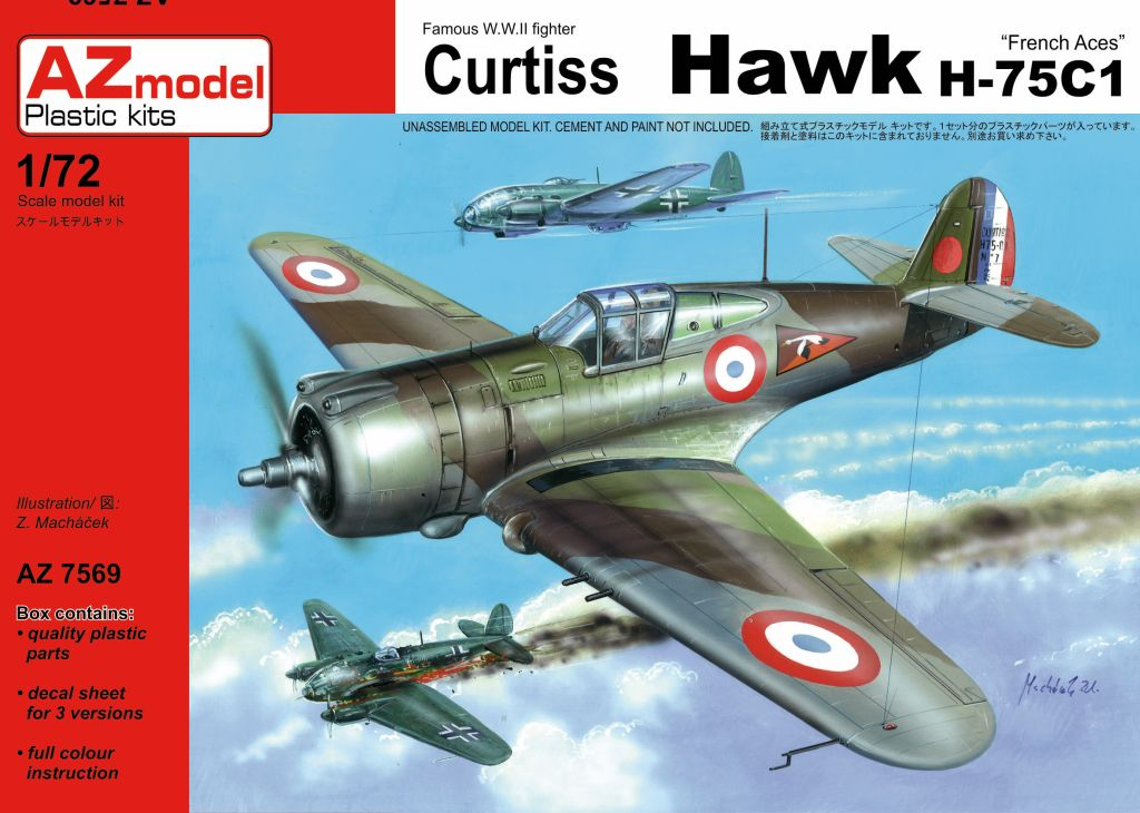 AZ-Model 1/72 Curtiss Hawk H-75C1 # 7569