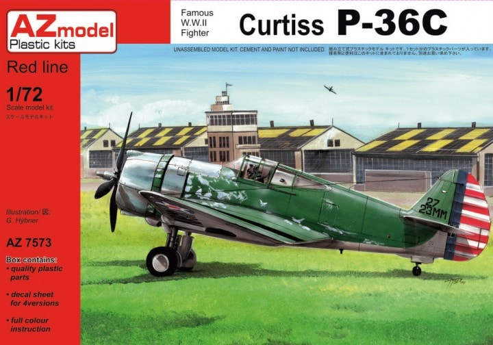 AZ-Model 1/72 Curtiss P-36C # 7573