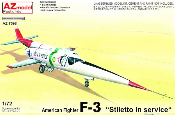 AZ model 1\72 X-3 Stiletto What-if # 7598