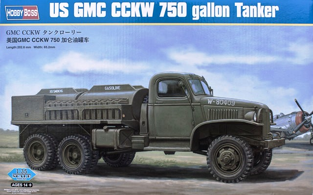 Hobby Boss 1/35 US GMC CCKW 750 gallon Tanker # 83830