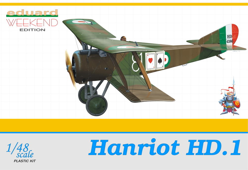 Eduard 1/48 Hanriot HD.1 # 8412