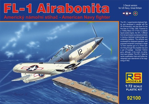 RS Models 1/72 XFL-1 Airabonita What if edition # 92100