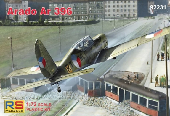 RS Models 1/72 Arado Ar 396 # 92231