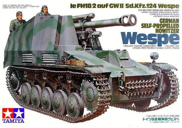 Tamiya 1\35 German Self Propelled Howitzer Wespe # 35200