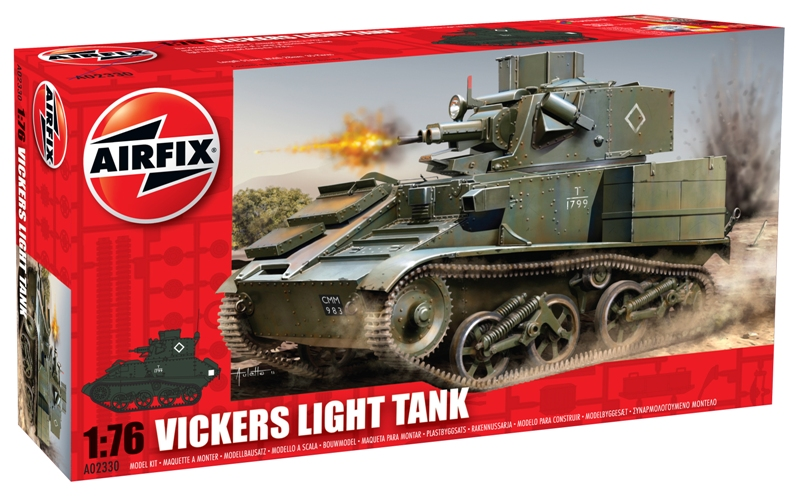 Airfix 1/76 Vickers Light Tank # 02023