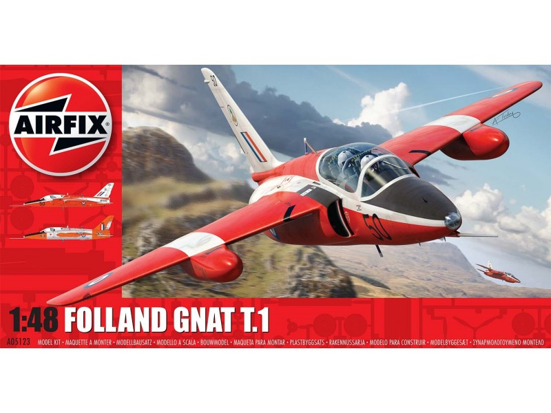 Airfix 1/48 Folland Gnat # 05123
