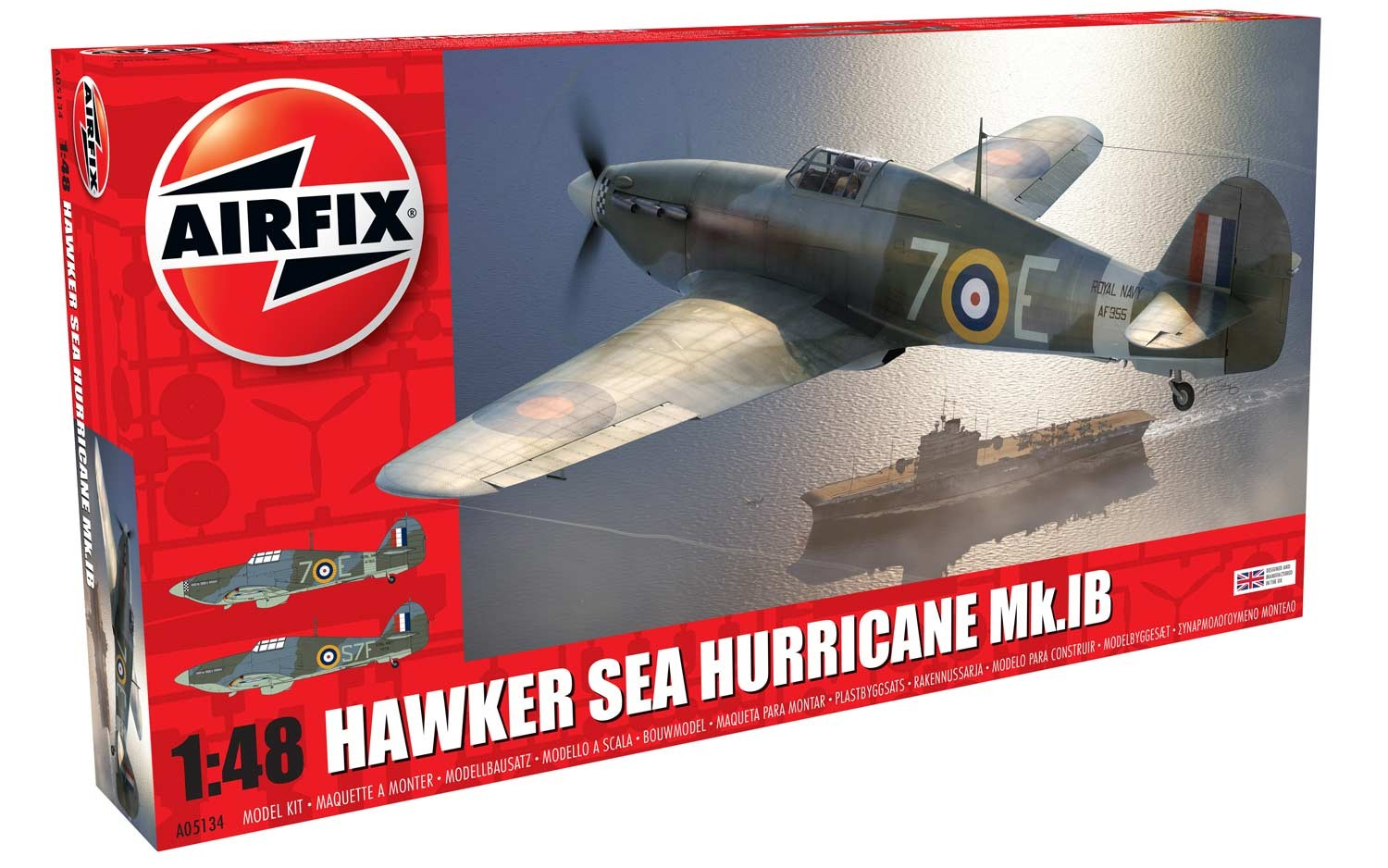 Airfix 1\48 Hawker Sea Hurricane MK.IB # 05134