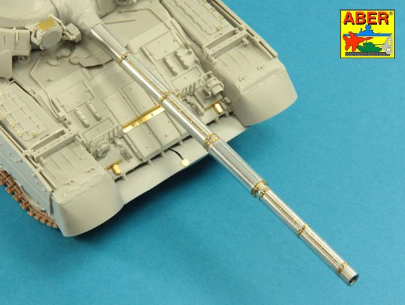 Aber 1/35 125mm 2A46M-4 Barrel for Russian Tank T-80U; T-80UM; T-80UD & Ukrainian T-84 # 35L146