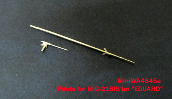 Miniworld 1/48 Pitots for MiG-21BIS for «EDUARD» # 48045a