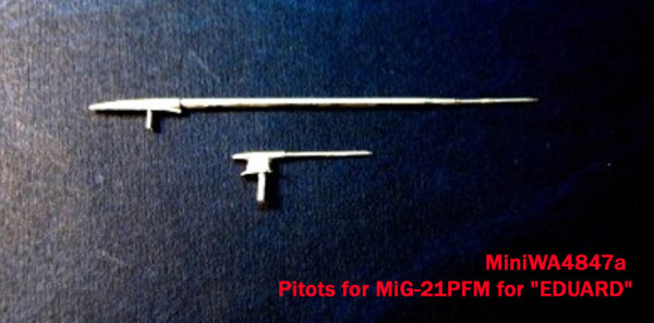 Miniworld 1/48 Pitots for MiG-21PFM for «EDUARD» # 48047a