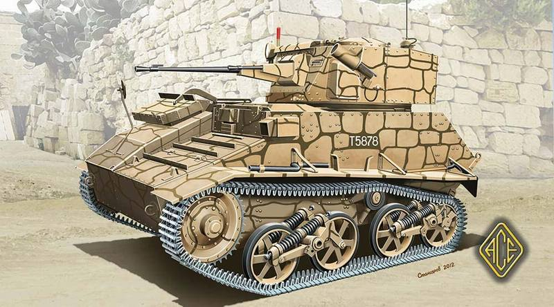 ACE 1/72 Mark.VI C British light tank Vickers-Armstrongs # 72292