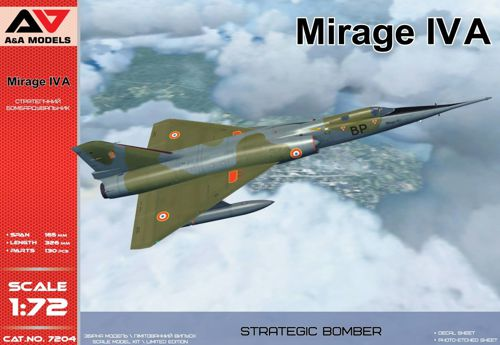 A&A Models 1/72  Mirage IVA # 7204