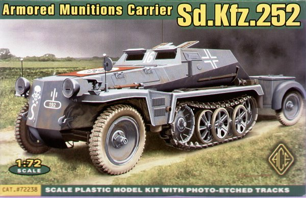 ACE 1/72 Sd.Kfz.252 armoured munitions carrier # ACE72238