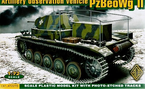 ACE 1/72 Artillery observation vehicle PzBeoWg II # ACE72270