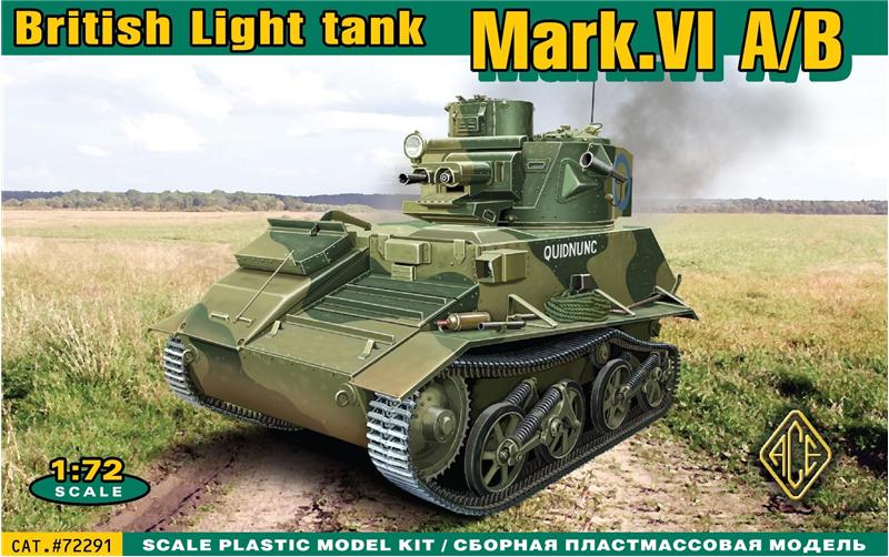 ACE 1/72Mark.VI A/B British light tank  # 72291