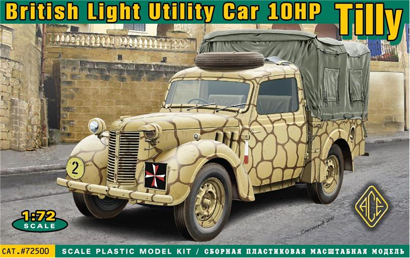 ACE 1/72 British light utility car Tilly 10hp # 27500