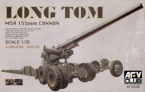 AFV Club 1/35 M59 Long Tom 155mm Cannon # 35009