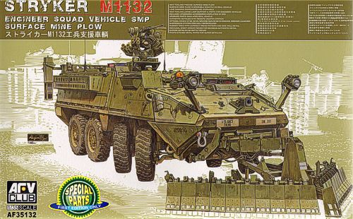 AFV Club 1/35 M1132 Stryker Engineer Squad Vehicle SMP # 35132