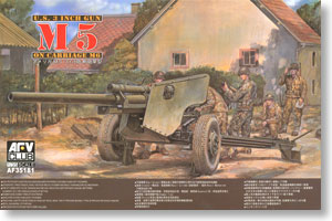 AFV Club 1/35 M5 3 inch Gun on M6 Carriage # 35181
