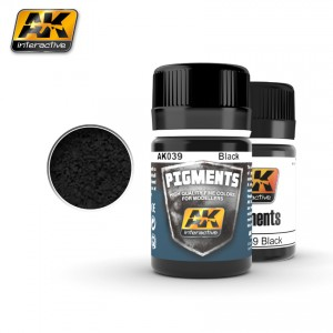 AK Interactiv Black pigments # 039