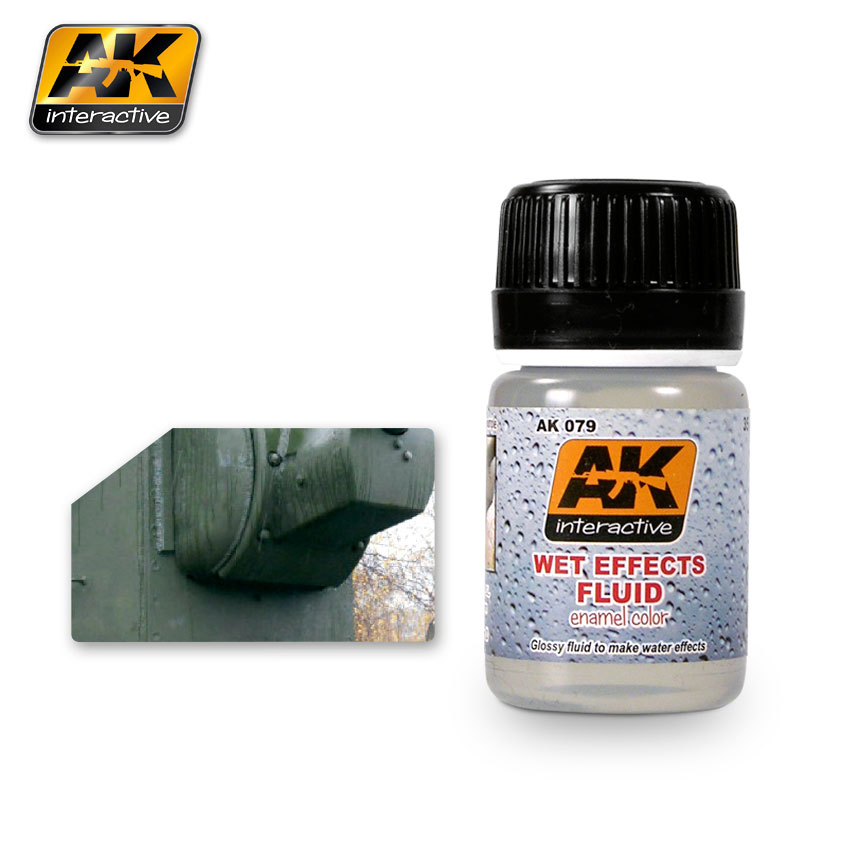 AK079 AK Interactive WET EFFECTS FLUID (Эффект влаги)
