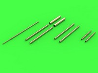 Master Model 1/32 Fw 190 A6 armament set (MG 17 barrel tips, MG 151 barrels, MG 151 fairings) & Pitot Tube # 32-064