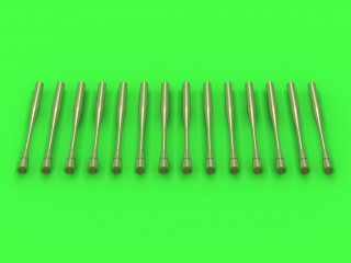 Master-model 1/32 Static dischargers - type used on Sukhoi jets (14pcs) # AM-32-067