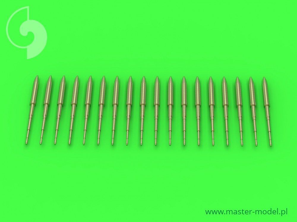 Master-model 1/48 Static dischargers for F-16 (16pcs+2spare) # AM-48-112