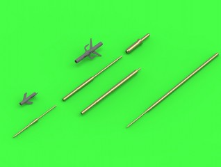 Master-model 1/48 Su-15 (Flagon) - Pitot Tubes (optional parts for all versions) # AM-48-121