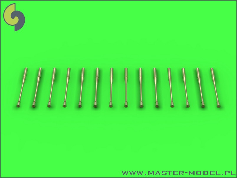 Master model 1/72 Static dischargers - type used on MiG jets (14pcs) # 72-068
