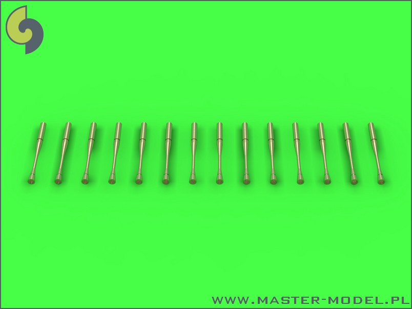 Master Model 1/72 Static dischargers - type used on Sukhoi jets (14pcs) # 72-069