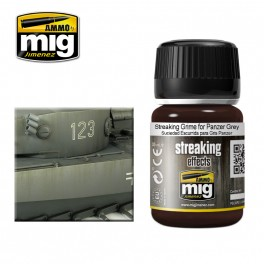 A-MIG STREAKING GRIME FOR PANZER GREY # 1202