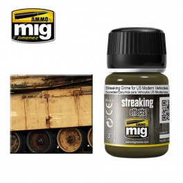 A-MIG STREAKING GRIME FOR US MODERN VEHICLES # 1207