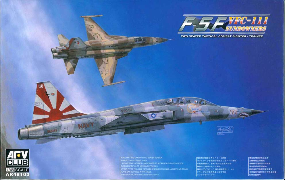 AFV Club 1/48 F-5F Tiger II VFC-111 Sundowners # AR48103