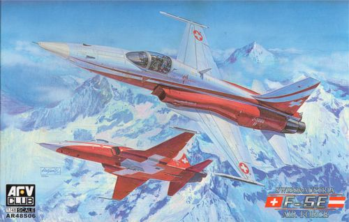 AFV Club 1/48 F-5E Tiger II Swiss/Austrian Air Forces # AR48S06