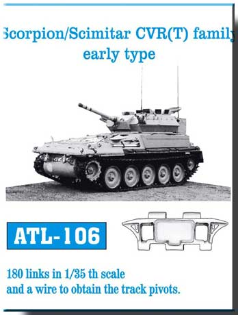 Friulmodel 1/35  Scorpion/Scimitar CVR(T) family early type # ATL-106