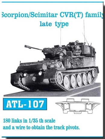 Friulmodel 1/35  Scorpion/Scimitar CVR (T) family late type # ATL-107
