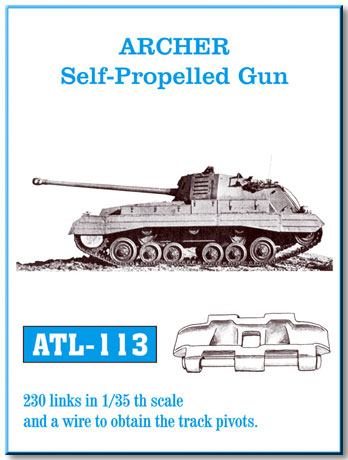 Friulmodel 1/35  ARCHER Self-Propelled Gun # ATL-113