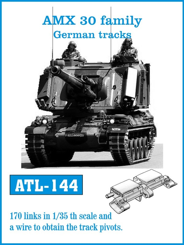 Friulmodel 1/35 AMX 30 family German tracks # 144