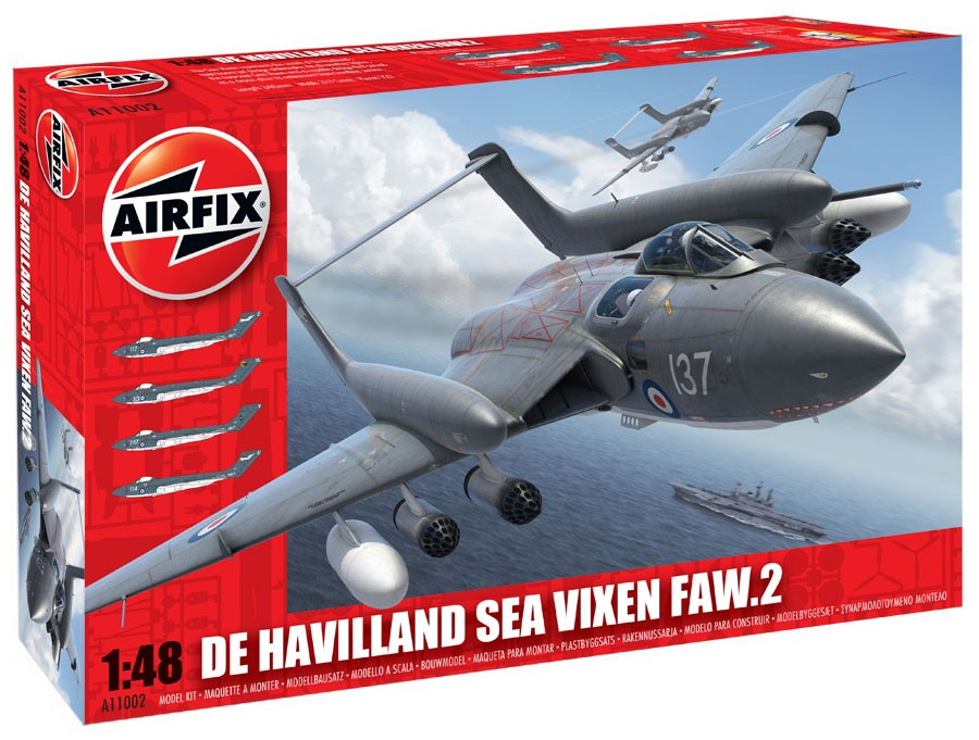 Airfix 1/48 De Havilland Sea Vixen FAW.2 # 11002