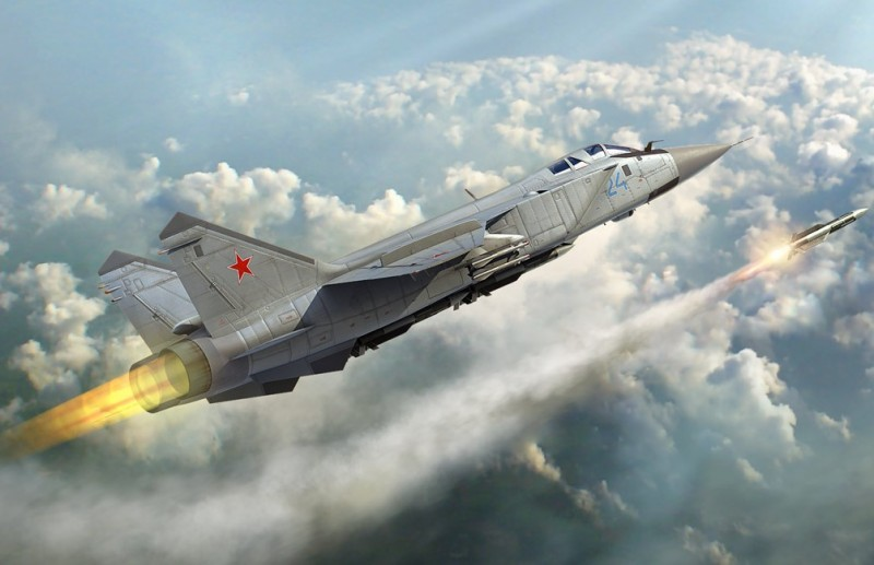 Russian MiG-31 Foxhound # 1/48 Hobby Boss # 81753