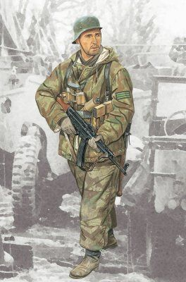 Dragon 1/16 Feldwebel 352nd Volksgrenadier Division # 1629