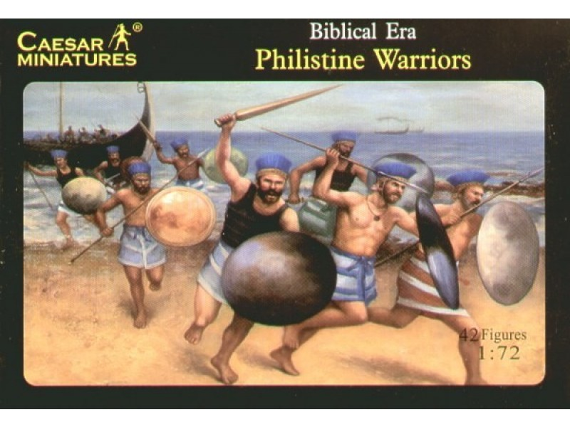 Caesar Miniatures 1/72 Philistine Warriors # 046