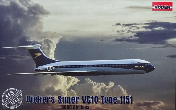 Roden 1\144 Vickers VC-10 Super Type 1151 # 313
