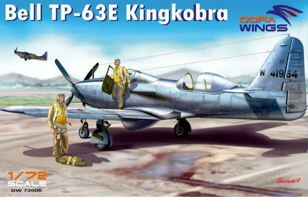 Dora Wings 1/72 Bell TP-63E Kingcobra (Two Seater) # 72006