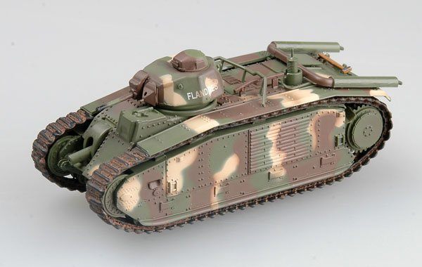 EASY MODEL 1/72 Char B1 2002,France Saumur museum # 36160