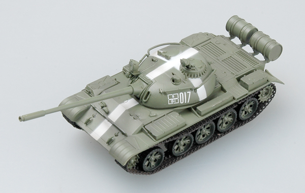 Easy Model 1/72 T-55 USSR 1968 Prague # 35024