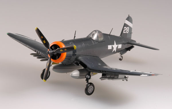 "Easy Model 1/72 F4U-1 ""Corsair"" USS Hancock 1945 # 37232"