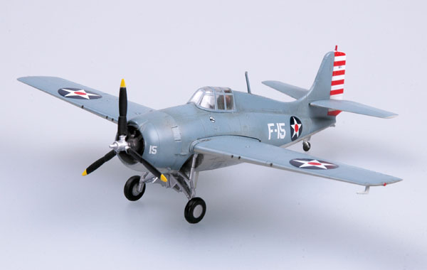 "Easy Model 1/72 F4F ""Wildcat"" VF-3 Aboard USS Lexington # 37246"