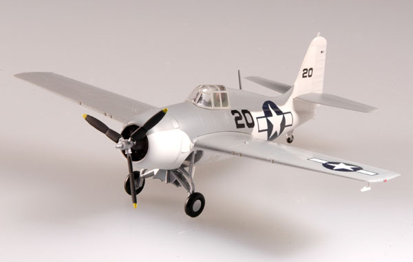 "Easy Model 1/72 F4F ""Wildcat"" VC-36 USS CORE Atlantic 1944 # 37250"